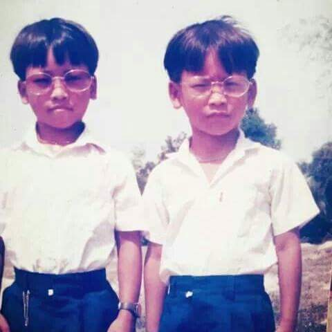 Sarith & Sarath as kids