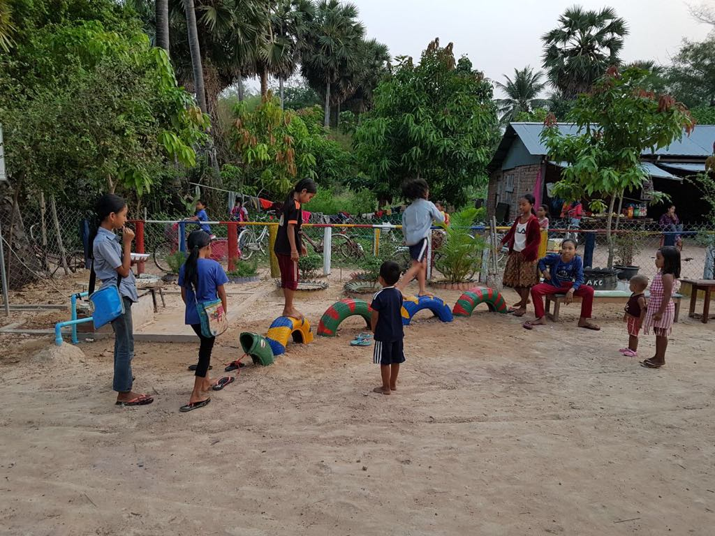Playground at AKC school