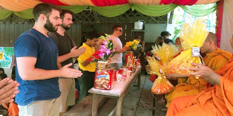 Local Measure Make Monk Offerings